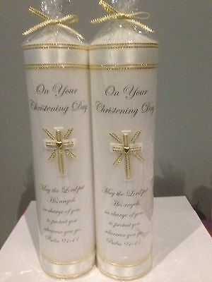 Personalised Baptism/Christening Candles
