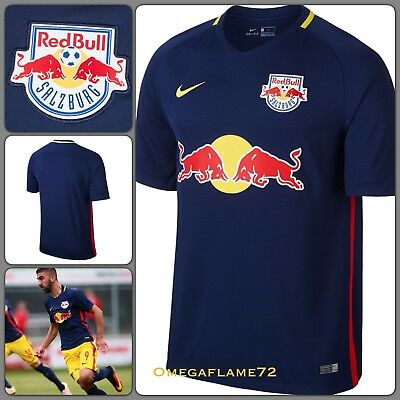 Nike 2016-17 Red Bull Salzburg Stadium Away Football Soccer Shirt Jersey Small