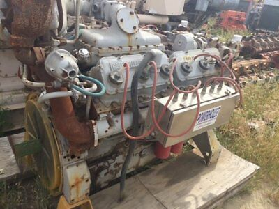Natural Gas Engine CAT G3412TA