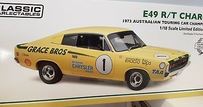 1:18 1973 Valiant VH Charger R/T E49 Ian Geoghegan 2nd place Surfers Paradise