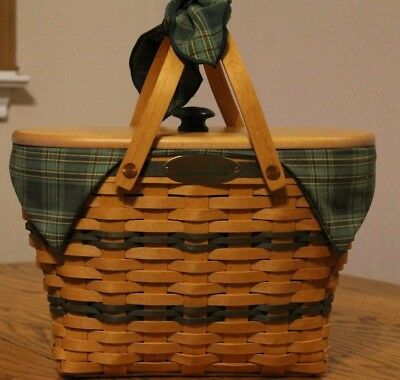 Longaberger CC Traditions Collection Fellowship Basket Combo