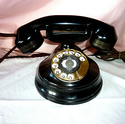 VintageTable Phone.Automatic Electric.Original.Fully working.C1920. Stunning.