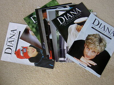 DIANA, THE UNTOLD STORY (12 magazines, excellent condition)
