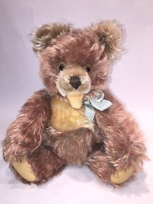 Vintage Steiff Zotty Teddy Bear, Jointed, 14 in., 1950s