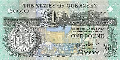 Guernsey 1 Pound, 2013 TDLR Commemorative, Circulated XF, NR