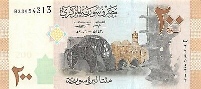 Syria 200 Pounds 2009 AH 1430  Almost Uncirculated , NR