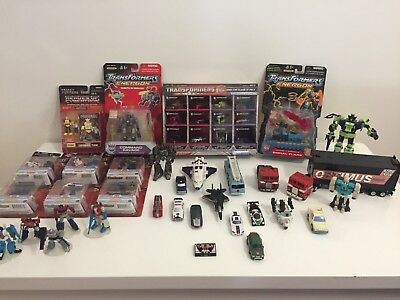 TRANSFORMERS - Bulk lot. Optimus Prime, Bumble Bee, Autobots, Deceptacons.