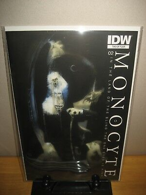 Scarce SIGNED By Menton3 & Ben Templesmith Monocyte #2RI In Mylar w/Board!!!