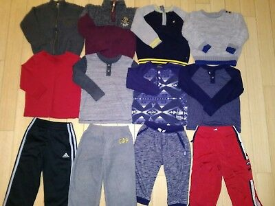 NICE! Toddler Boys 3T/4T Winter Clothes Lot Sweaters,Pants- Lots of Brand Names