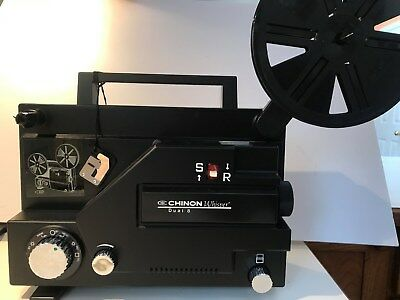 CHINON WHISPER Standard 8mm & Super 8 Variable Speed Movie Projector