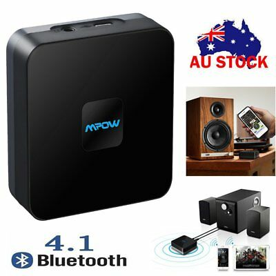 MPOW Wireless Bluetooth V4.1 Receiver  HIFI Stereo Audio Adapter Music Player AU