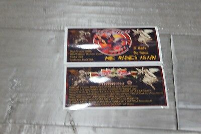 Black Knight 2000 pinball instruction cards