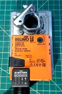 BELIMO ACTUATOR AMB24-RS  AC/DC 24 VOLTS (  for control of damper surfaces )