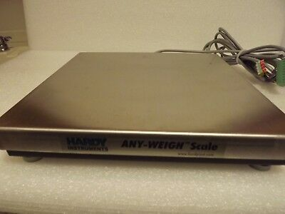 Hardy Instruments Any-Weigh Bench Scale Model No. Hi1212Sbu-33, Free Shipping