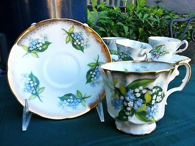 Elizabethan - Fine Bone China/made In England - Cup & Saucer-Lily Of The Valley