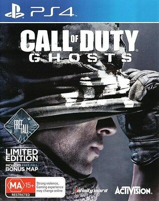 Call Of Duty Ghosts Sony PlayStation 4 PS4 GAME good condition FREE POSTAGE