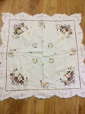 Vintage Easter Supercloth Tablecloth