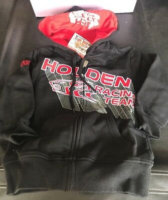 HRT HOLDEN RACING TEAM KIDS BOYS JUMPER HOODIES RRP $49 Size 6 Only V8SUPERCARS