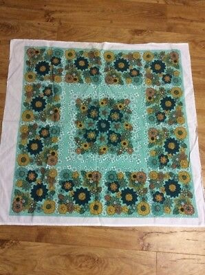 Vintage Retro  Supercloth Tablecloth