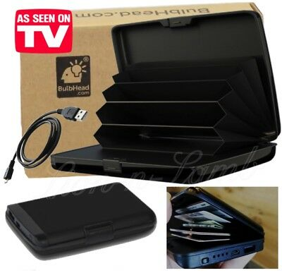 Atomic Charge Wallet RFID Blocking Protect AS SEEN ON TV E Charge Beam Phone New