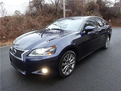 2015 Lexus GS 350 AWD GS 350 AWD  43,128 Miles DEEP BLUE NAV CAMERA HEATED/COOLING  SEATS REAL LEATHER