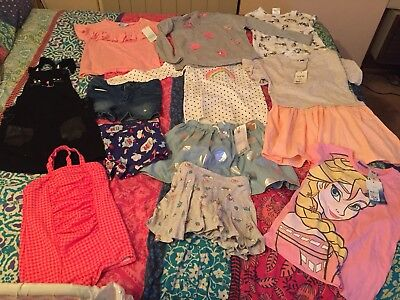 Size 7 and 8 Girls Clothes BNWT My Little Pony, Frozen, Tilli And Cotton On Kids