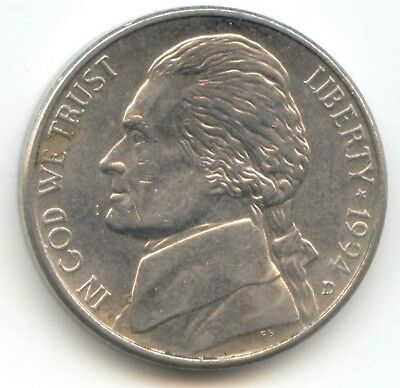 USA 1994D Five Cent American Jefferson Nickel 5c Piece 5 Cents 1994 D EXACT COIN