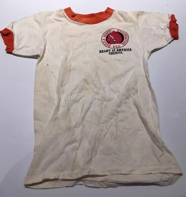 Vintage 1970's Boy Scout T-Shirts - Camp Bartle & Program Rangers
