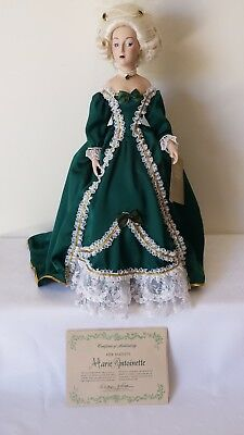 Franklin Mint Heirloom Collector Doll - Marie Antoinette