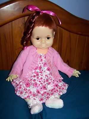 Vintage Baby Crissy Doll. Early 70's Era.- In Good Condition.