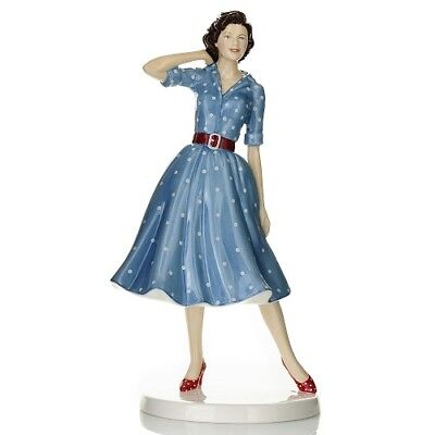 Royal Doulton Fashion through the Decades: 1950s NANCY Figurine Limited Edition