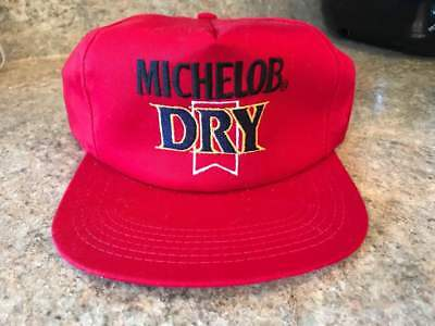Michelob Dry Beer Ball Cap.  1980's. Excellent, never worn, adjustable.  NO RES.