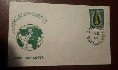 Fdc - colombo - 25 oct 1966 -   fine Used Condition - Lot 75