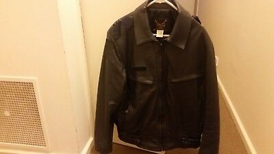 Victoria Police Obsolete Jacket Leather