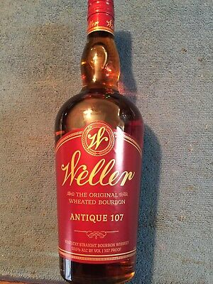 Rare Whiskey, Old Weller ,Antique 107, Buffalo Trace  107 proof  750 ml