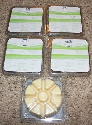 5 packages Partylite Scent Plus Melts Brighter Days SX146