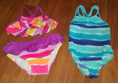 Toddler girls swimsuit lot size 2t