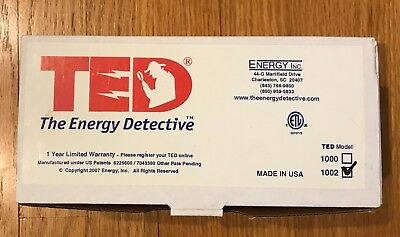TED the energy detective Model 1002