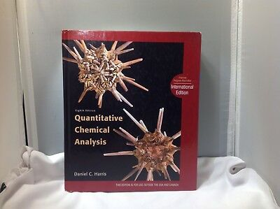 Quantitative chemical analysis harris 9th edition free shipping quantitative chemical analysis daniel c harris fandeluxe Image collections