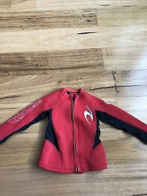 Ripcurl Wetsuit Jacket Top Toddler Baby Kids Size:1