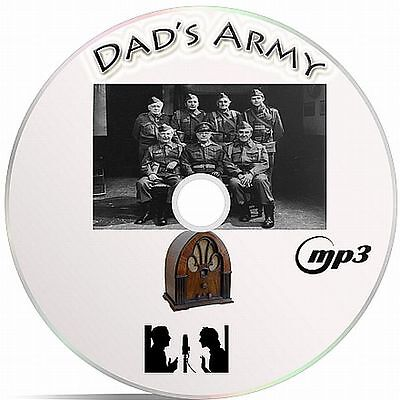Dad's Army 71 Old Time Radio Shows Audio MP3 On A CD - OTR  Great Family Fun..