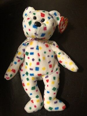 Ty 2k Beanie Baby 1999 RETIRED Tag Errors Perfect Condition