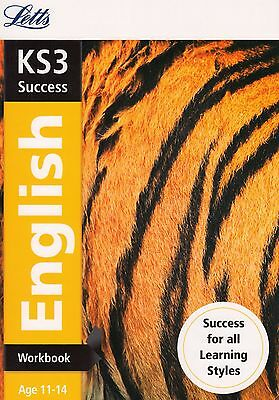 Letts KS3 Success English Workbook Age 11-14 BRAND NEW BOOK (Paperback, 2014)