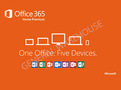 Microsoft Office 365 LIFETIME Account for 5 Devices [Mac, Windows & Mobile]