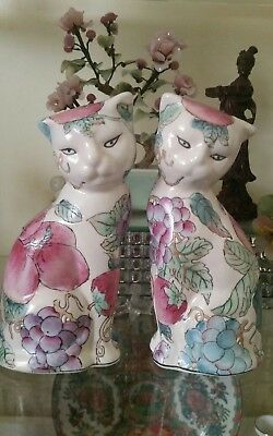 Antique Chinese Cats