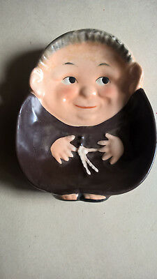 "Goebel 'Friar Tuck ""Flat Ashtra / Wall Plaque "" Mold RF142 c1956"