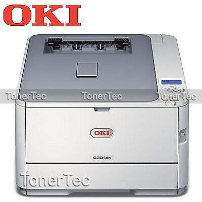 OKI C301DN Color Laser Network Printer+Auto Duplexer PN:44951526 w/3-Yr Warranty