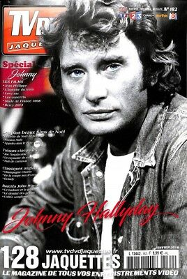 TV DVD Jaquettes N°182 Spécial Johnny Hallyday - Collector - 100% neuf