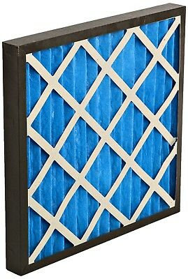 GVS Filter Technology G4P.20.20.2.SUA001.010 G4 Pleated Panel Filter, Blue/White