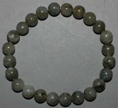 "Bracelet Labradorite 8 mm ""Large"""